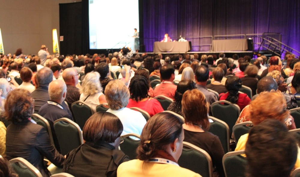 Rapport fra IFLA i Puerto Rico torsdag 18. august: Open access, personalutvikling og avslutning  (4/6)