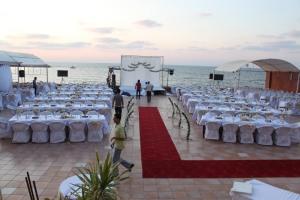 Preparation for Wedding, hotel Al Deera, Gaza. Photo: Lars Egeland